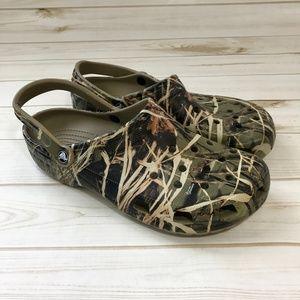 75492fb41d207 CROCS Camouflage Classic Realtree V2 Clog Sandals